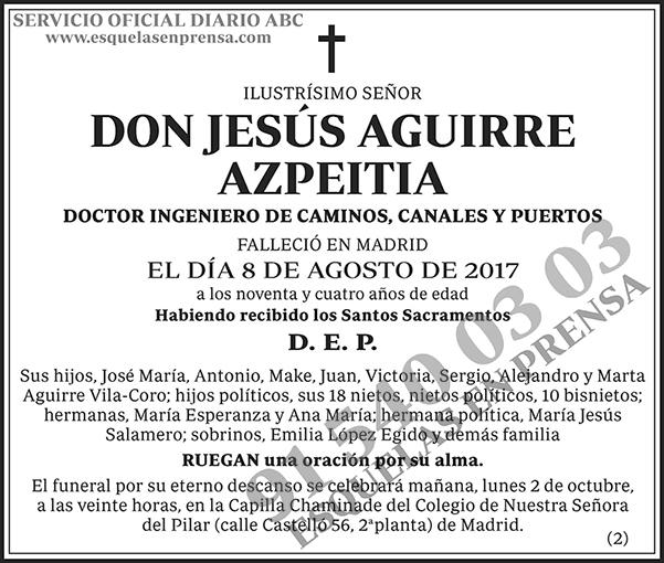 Jesús Aguirre Azpeitia